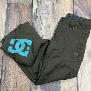 DC Shoes Snowboarding Pants Size Medium